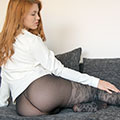 Tereza V. - Relaxing On The Couch
